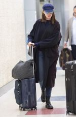 ANNE HATHAWAY at JFK Airport in New York 06/12/2019
