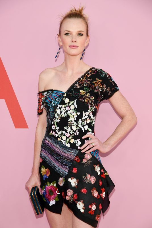 ANNE VYALITSYNA at CFDA Fashion Awards in New York 06/03/2019