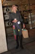 ANNEKA RICE Leaves The One Show in London 06/10/2019