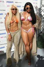 ASHANTI in Bikini Perform at Flamingo Go Pool Dayclub in Las Vegas 06/08/2019