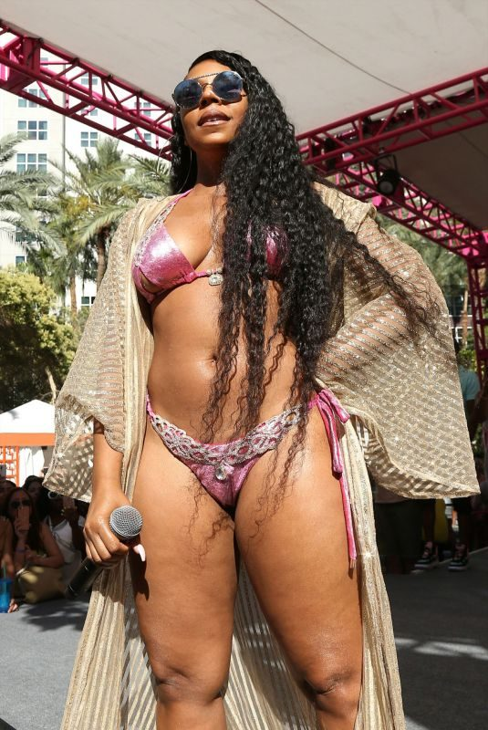 ASHANTI in Bikini Perform at Flamingo Go Pool Dayclub in Las Vegas 06/08/2019