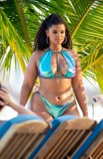 ASHANTI in Bikinis on the Set of a Photoshoot in Florida Keys 06/11/2019