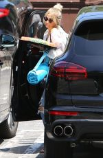 ASHLEE SIMPSON Arrives at a Kids Party in Los Angeles 06/19/2019