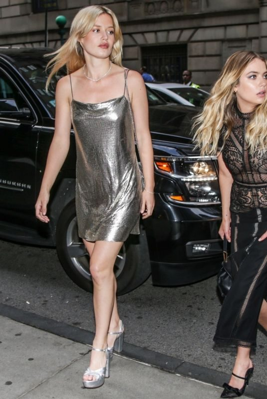 ASHLEY BENSON, GEORGIA MAY JAGGER and CARA DELEVINGNE Arrives at Trevorlive in New York 06/17/2019