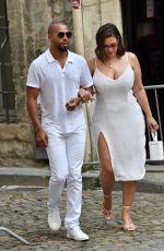 ASHLEY GRAHAM Arrives at Sophie Turner's Pre-Wedding Party at La Mirande in Avignon 06/28/2019