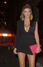 ASHLEY JAMES at Novikov Restaraunt in London 06/27/2019