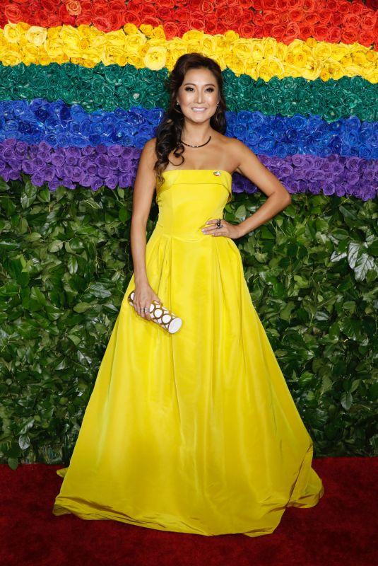 ASHLEY PARK at 2019 Tony Awards in New York 06/09/2019