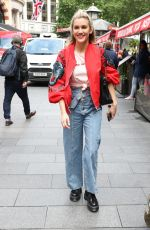 ASHLEY ROBERTS Out and About in London 06/14/2019
