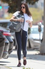 AUBREY PLAZA Arrives at a Gym in Los Angeles 06/05/2019