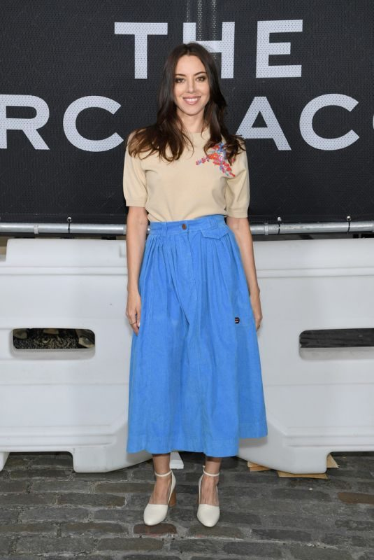 AUBREY PLAZA at Marc Jacobs Soho Block Party in New York 06/12/2019
