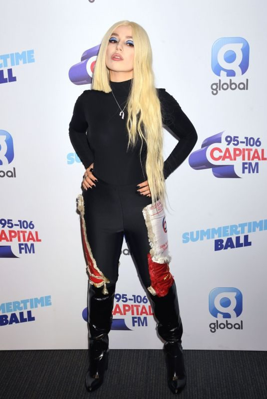 AVA MAX at Summertime Ball at Wembley Arena in London 06/08/2019