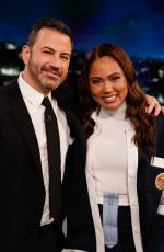 AYESHA CURRY at Jimmy Kimmel Live 06/19/2019