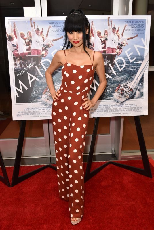BAI LING at Maiden Premiere at Linwood Dunn Theate in Los Angeles 06/14/2019