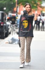 BEHATI PRINSLOO Out for Lunch at Il Buco in New York 06/05/2019