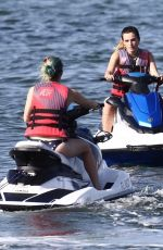 BELLA and DANI THORNE on Riding a Jet Skis in Miami 06/21/2019