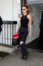 BELLA HADID Arrives at LAX Airport in Los Angeles 06/04/2019