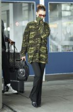 BELLA HADID at JFK Airport in New York 06/16/2019