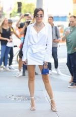 BELLA THORNE Arrives at Build Series in New York 06/14/2019