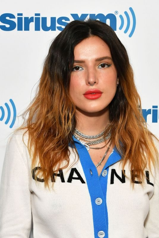 BELLA THORNE at Jenny McCarthy Show at SiriusXM Studios in New York 06/14/2019