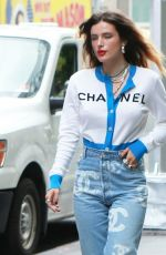 BELLA THORNE in CHanel Head-to-toe Out in New York 06/13/2019