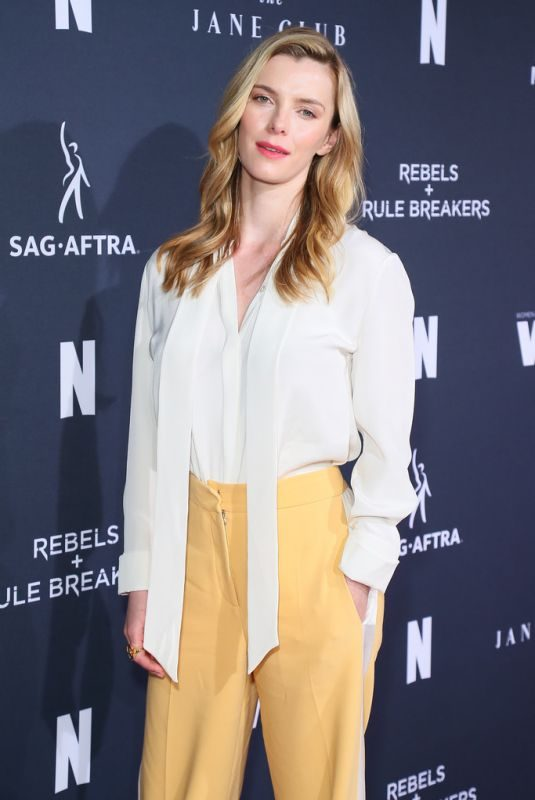BETTY GILPIN at FYC Netflix Event Rebels and Rule Breakers in Los Angeles 06/02/2019