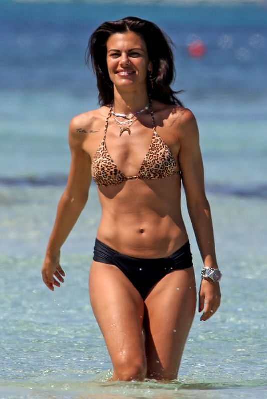 BIANCA GUACCERO in Bikini on the Beach in Formentera 06/18/2019