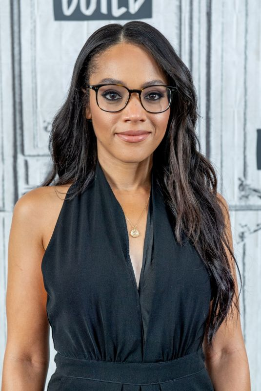 BIANCA LAWSON at Build Series in New York 06/20/2019