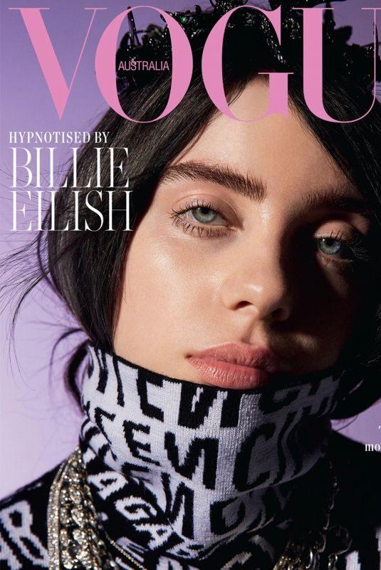 BILLIE EILISH in Vogue Magazine, Australia July 2019