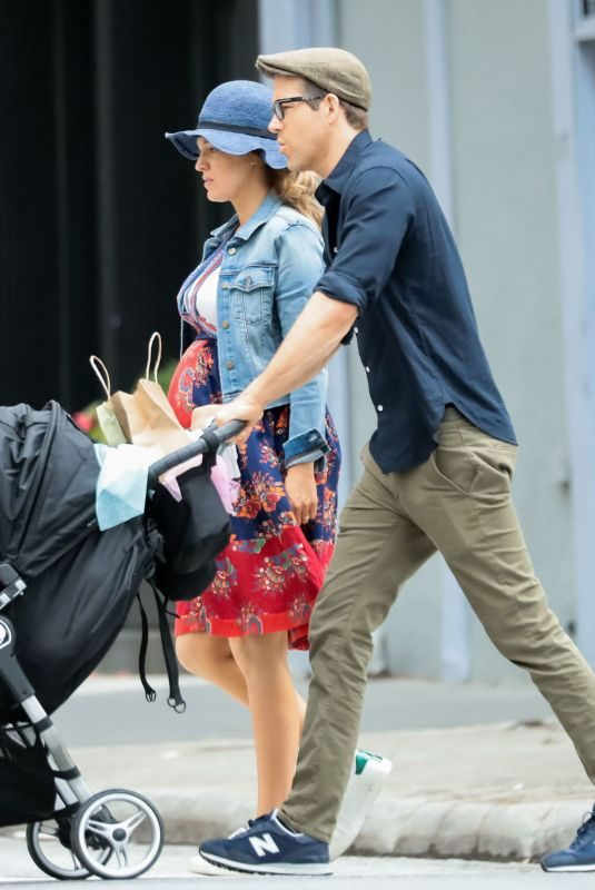 BLAKE LIVELY and Ryan Reynolds Out in New York 06/19/2019