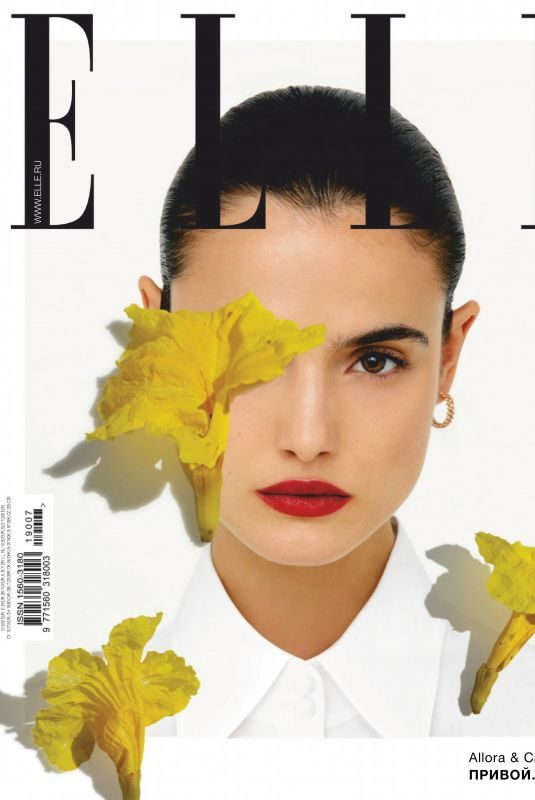 BLANCA PADILLA in Elle Russia Magazine, July 2019
