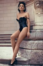 BLEONA QERETI in Swimsuit at a Photoshoot at Como Lake 06/24/2019