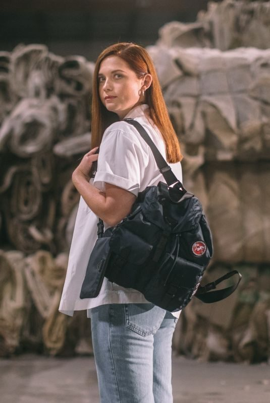 BONNIE WRIGHT for Prada Re-nylon Bags Collection, June 2019