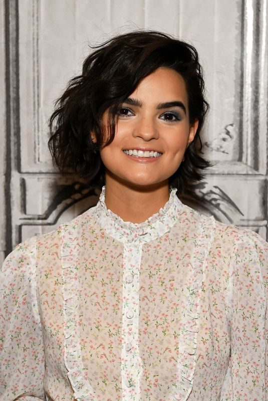 BRIANNA HILDEBRAND at Build Series in New York 06/17/2019