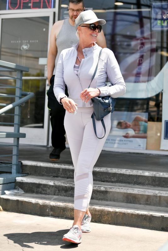 BRIGITTE NIELSEN Out and About in Los Angeles 06/03/2019