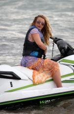BRITNEY SPEARS Jet Skiing in Miami 06/09/2019