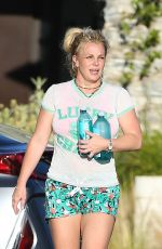 BRITNEY SPEARS Leaves Yoga Class in Los Angeles 06/27/20198