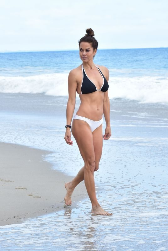 BROOKE BURKE in Bikini at Beach in Malibu 06/09/2019