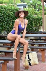 BROOKE BURKE in Swimsuit on the Beach in Malibu 06/17/2019