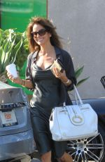 BROOKE BURKE Out in West Hollywood 05/28/2019