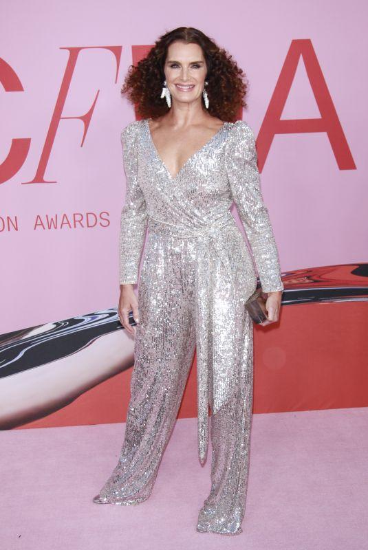 BROOKE SHIELDS at CFDA Fashion Awards in New York 06/03/2019