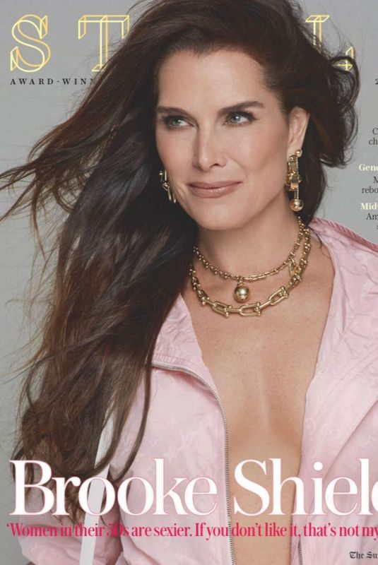 BROOKE SHIELDS for Stella Magazine, January 2019