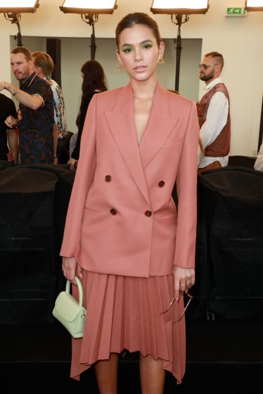 BRUNA MARQUEZINE at Acne Studios Haute Couture Fall/Winter 2019/2020 Show at Paris Fashion Week 06/30/2019