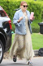 BUSY PHILIPPS Leaves Her House in Los Angeles 05/31/2019