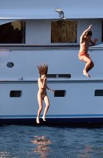 CAIRO DWEK in Bikini at a Boat in Portofino 06/01/2019