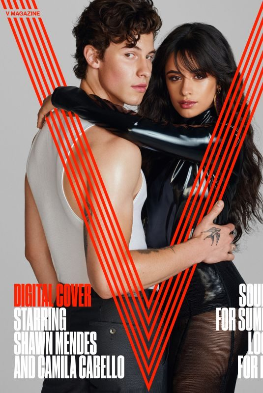 CAMILA CABELLO and Shawn Mendes for V Magazine, 2019