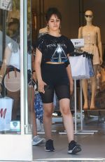CAMILA CABELLO Shopping at H&M in West Hollywood 06/28/2019