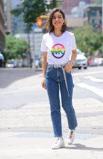 CAMILA COELHO at a Photoshoot for Michael Kors in New York 06/11/2019