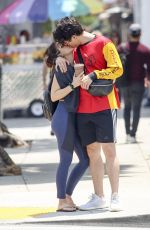 CAMILA MENDES and Charles Melton Out in Los Angeles 06/05/2019