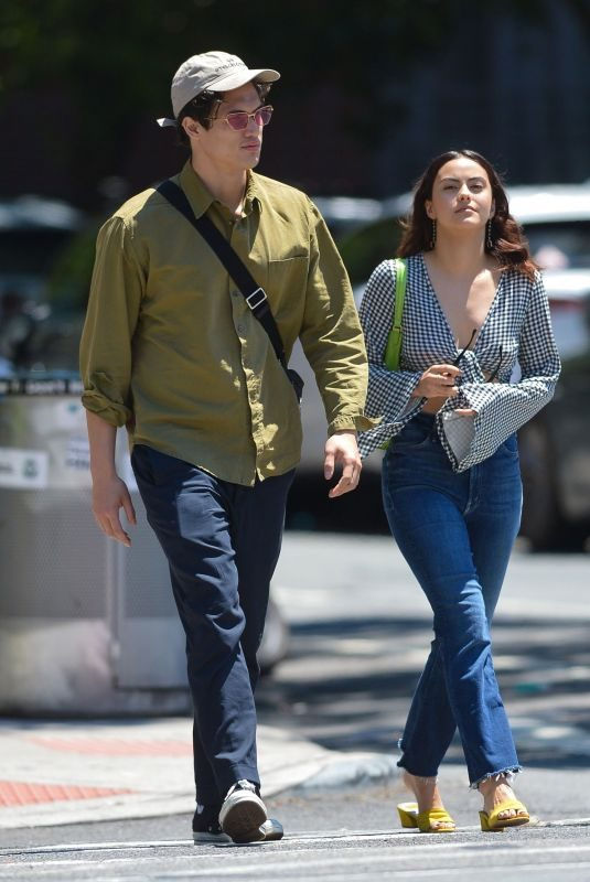 CAMILA MENDES and Charles Melton Out in New York 06/26/2019