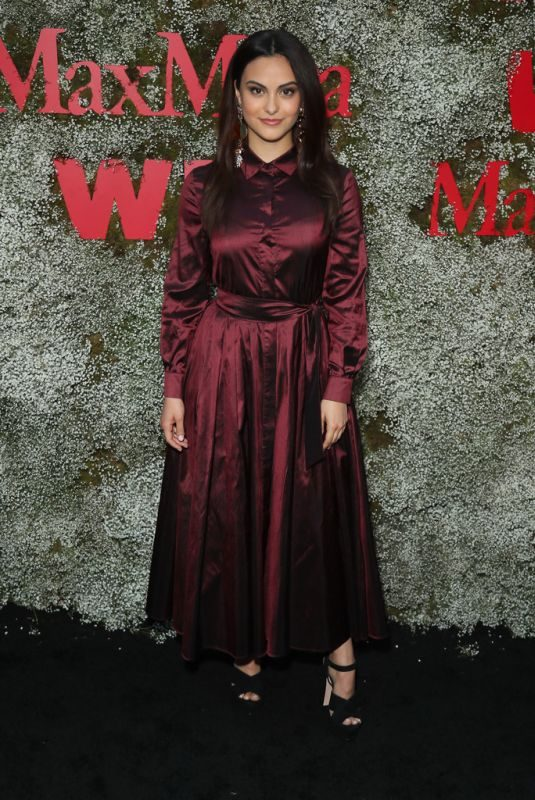 CAMILA MENDES at 2019 Women in Film Max Mara Face of the Future in Los Angeles 06/11/2019
